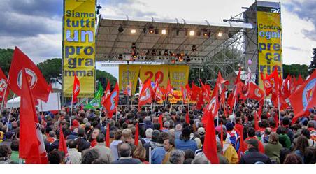 MANIFESTAZIONE DEL 20 OTTOBRE A ROMA