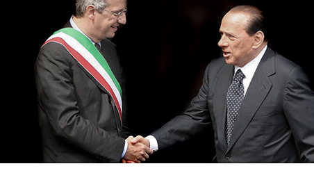 Berlusconi e Veltroni