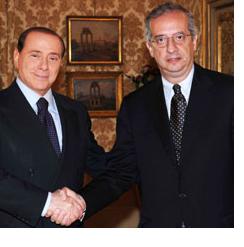 Veltroni e Berlusconi