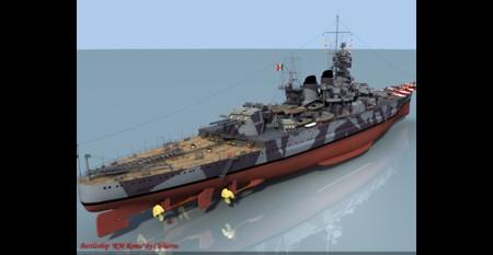 La RN Roma era una nave da battaglia Italiana della classe Littorio della Regia Marina della seconda guerra mondiale. Fu l'ultima nave costruita della sua classe, denominata dopo Roma, capitale d'Italia e fu impostata in servizio il 14 Giugno 1942 . Affondata al largo dell'Asinara il 9 settembre del 1943.