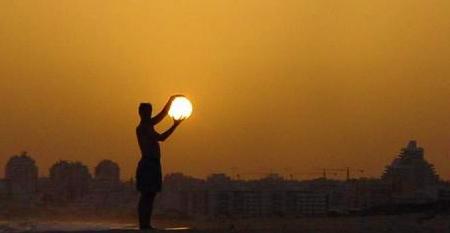 Il sole che lotta