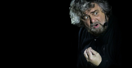 Beppe Grillo movimento 5 stelle