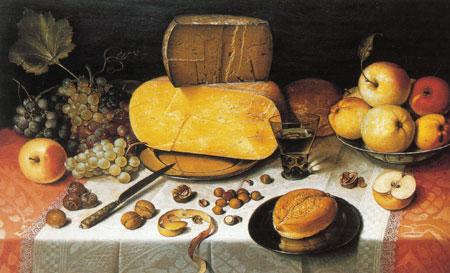 pittura formaggio