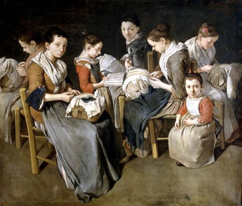 Giacomo Ceruti - Donne al Lavoro 1720