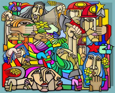 murales per il lavoro