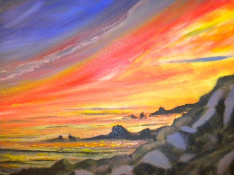Ettore-Gravante__tramonto-rosso_g
