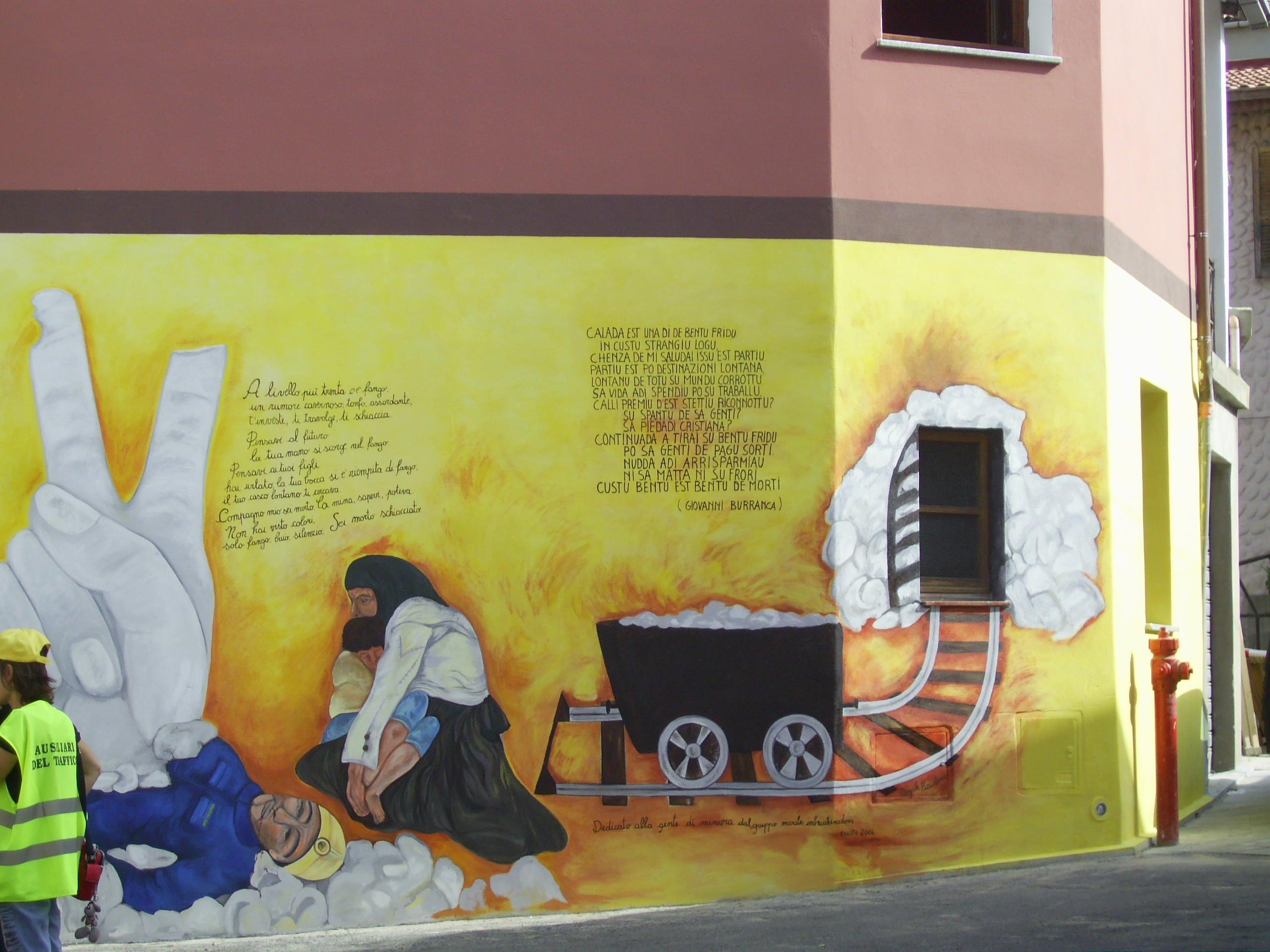 Fluminimaggiore, pittura murale