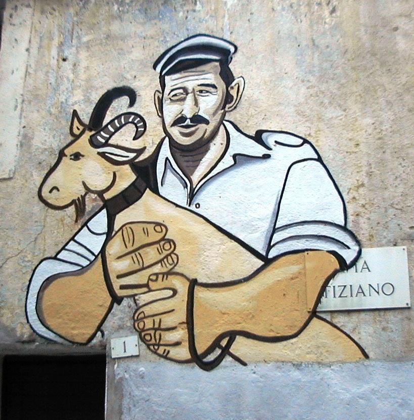 pastore murales di orgosolo