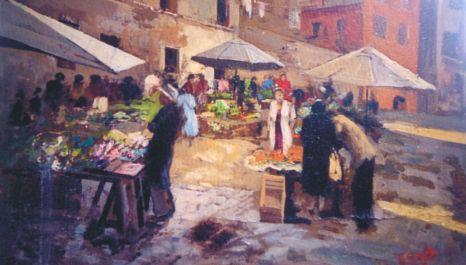 mercato-dipinto
