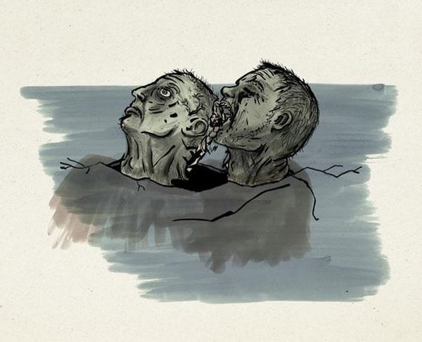 Il conte Ugolino e Ruggieri © Fabrica