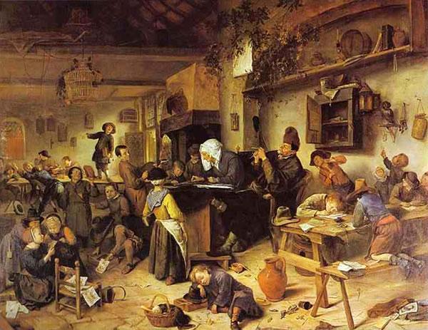 Scuola di Paese, Paesi Bassi, 1670