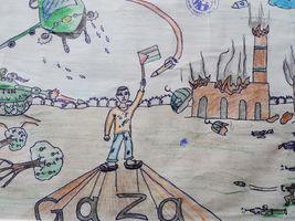 nella-mostra-della-shoah-ci-sono-i-disegni-dei-bambini-palestinesi-e-viene-annullata