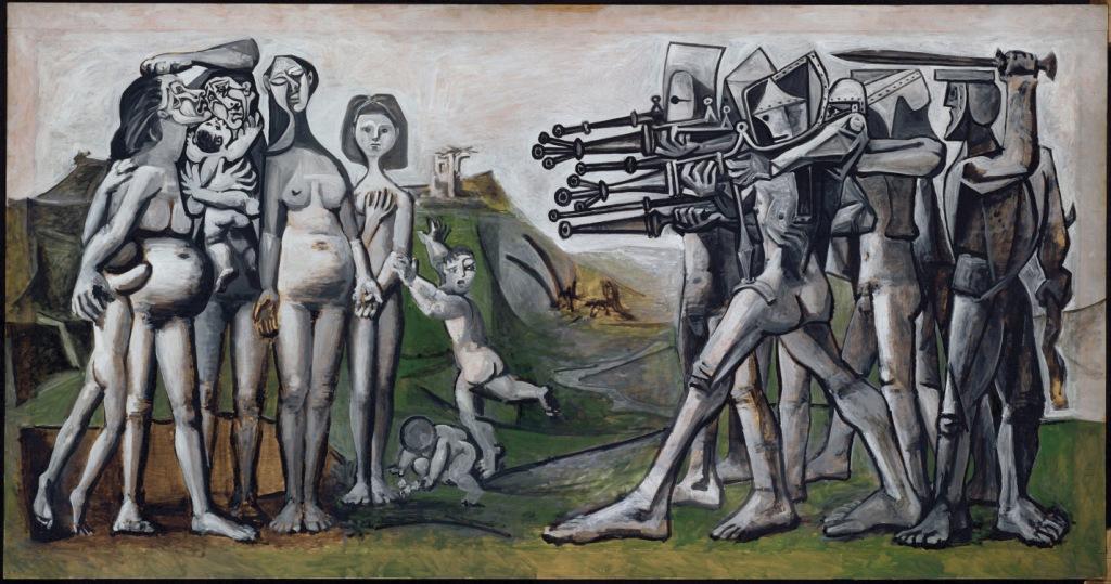Pablo-Picasso-Massacro-in-Corea-copyright-Succession-Picasso-by-SIAE-2012
