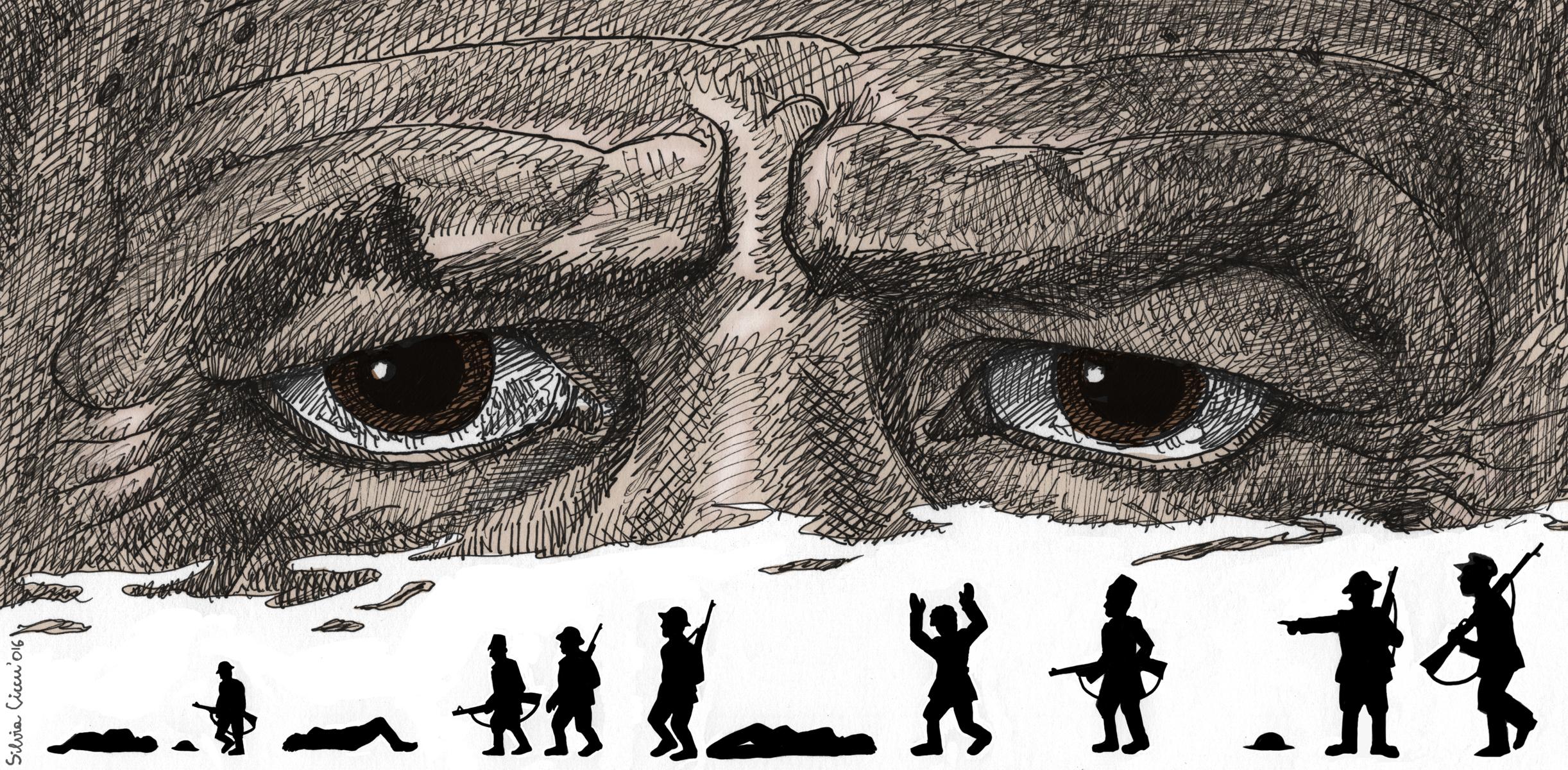 Gli occhi di Luigi Pintor - di Silvia Ciccu