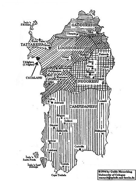 Carta linguistica della Sardegna